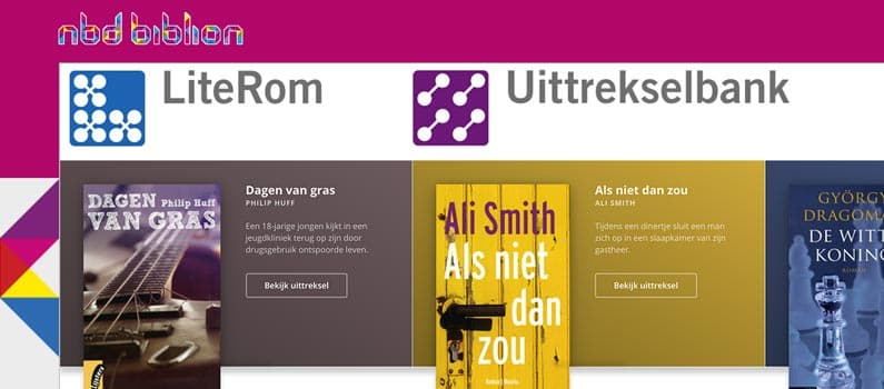 NBD's LiteRom and Uittrekselbank online websites refreshed