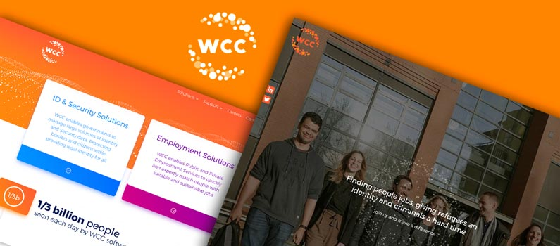BSL creates a new Corporate site for WCC Group